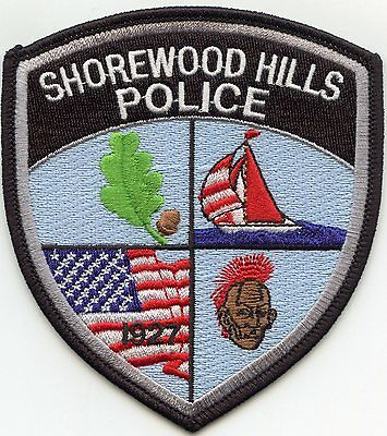 Shorewood Hills Wisconsin Wi Police Patch