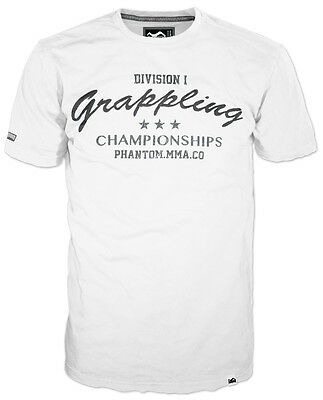 Phantom MMA  Grappling Championships Shirt  Weiss, T-Shirt