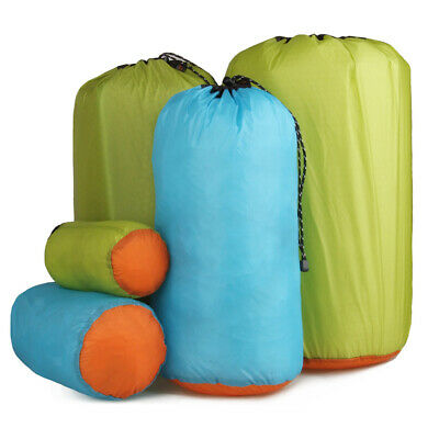 Small- Large ALL SIZE Waterproof Dry Sack Clothing Luggage Drawstring Bag Travel