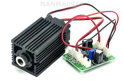 Focusable 635nm 638nm 500mw Orange Red Laser Line Module 12V+ TTL+ Fan Cooling