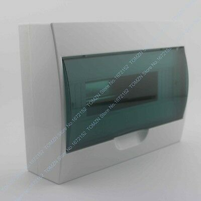 9 - 12 ways Plastic distribution box for circuit breaker indoor on the wall