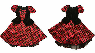 Kids Ladybug Girls Outfit Insect Cute Lady Bug Ladybird Fancy Dress Costume  sc 1 st  PicClick UK & TODDLER LADY BUG Costume Insect Ladybird Book Week Day Fancy Dress ...