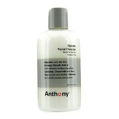 Anthony Logistics For Men Glycolic Facial Cleanser 237ml Mens  Skin Care