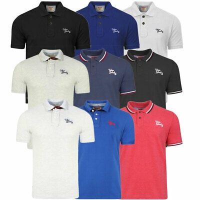 New Mens Tokyo Laundry Short Sleeve Classic Polo Shirt Collared Top Size S-XXL