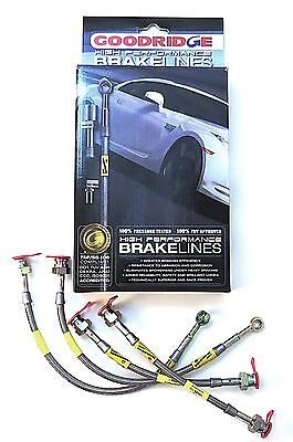 Goodridge Brake Hose Kit Vauxhall Astra Mk4 With Rear Discs '98-'04 Full Kit