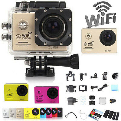WIFI 1080P Full HD Helmet Cam Sports DV Action Camera Waterproof Camcorder SJCAM