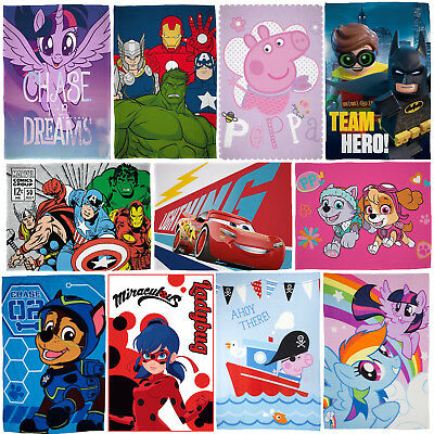 Disney Official Children's Kids Cartoon Character Soft Fleece Blanket Throw