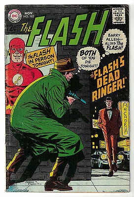 DC Comics THE FLASH Issue 183 The Flash's Dead Ringer! VG+