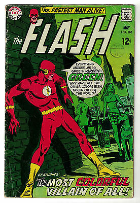 DC Comics THE FLASH Issue 188 The Most Colourful Villain Of All! VG+
