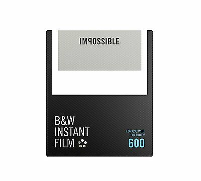 Impossible Instant BW Films for Polaroid 600 Series and impossible i-1Cameras