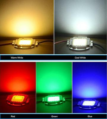 10/20/30/50/100W Super Bright Smd Led Chip High Power Bulb Floodlight/exterior