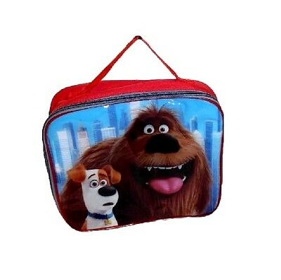 New Secret Life Of Pets Insulated Thermal Lunch Bag : Wh3 : 574 : New