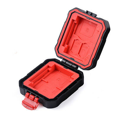 Anti-shock Water-resistant Memory Card Storag Case Holder For 2Q+ 2CF+ 2TF +3SD