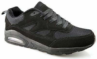 Mens Ladies Womens Trainers Kids Gym Running Walking Joggers Lace Up Shoes Size