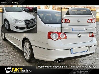 Volkswagen Passat B6 3C - Full body kit R-line [Saloon] (1637)
