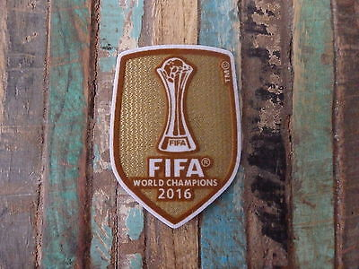 Patch Fifa 2016 Club World Cup Real Madrid Parche Badge Soccer Ronaldo Bale