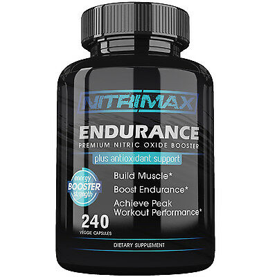 Nitrimax Endurance Premium Energy Booster with Antioxidant Support