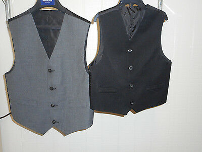 Boys Assorted Styled Sizes 6, 8, 10-12, & 18-20 Reversible Vest