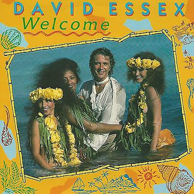 "David Essex "" Welcome "" 7"" 1984 Made In Uk"