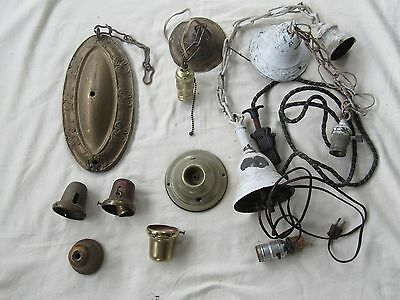 Antique Light Fixture Parts #4