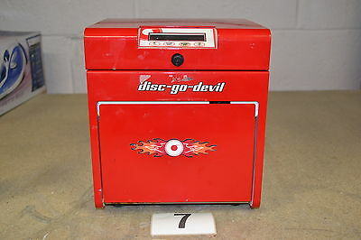 TDR Disc-Go-Devil CD & Blu-ray Disc Cleaner & Repair Machine (Untested)