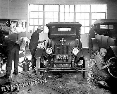 Photograph of the Montgomery County Car Repair Shop  Year 1926 8x10