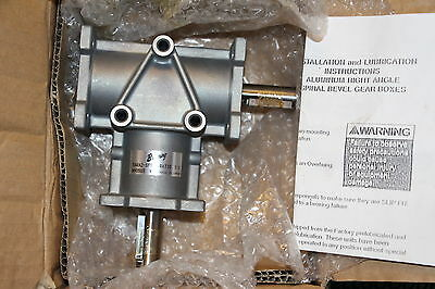 Browning 5ARA2-SF10 Right Angle Spiral Bevel Gearbox 1:1 Ratio 5ARA2SF10