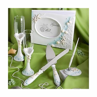 Finishing Touches Collection of beach themed wedding day accessories 1 NO TAX