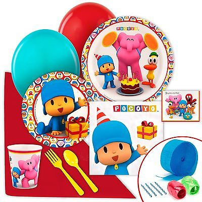 Pocoyo Party Supplies - Value Party Pack NO TAX