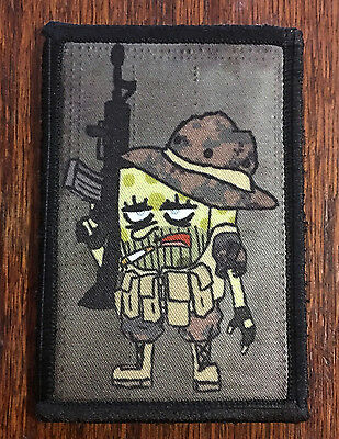 SpongeBob Squarepants Operator Funny Morale Patch Tactical ARMY Military USA