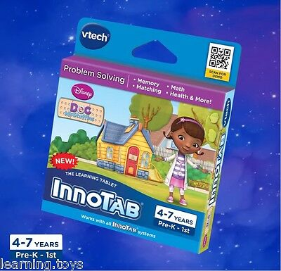 InnoTAB 2 3S MAX Game - Doc McStuffins (Works With InnoTV Console)