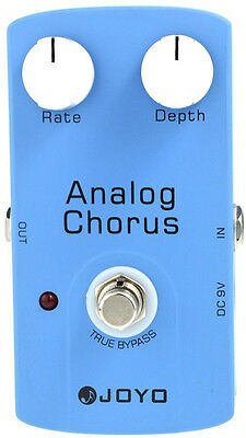 Joyo JF-37 Analog Chorus True Bypass Chorus Electric Guitar Effect Pedal