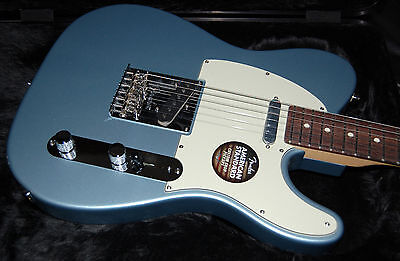 Fender American Standard Limited Edition Telecaster Ice Blue Metallic Matching P