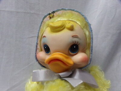 Rusthon Company Rare Rubber Faced Duck Plush By Atlanta Star Creation