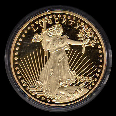 1933 Gold Double Eagle Proof (2003 COPY) American Mint 06728
