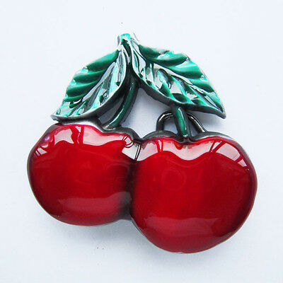 Cherry Fashion Belt Buckle Rockabilly Pin Up