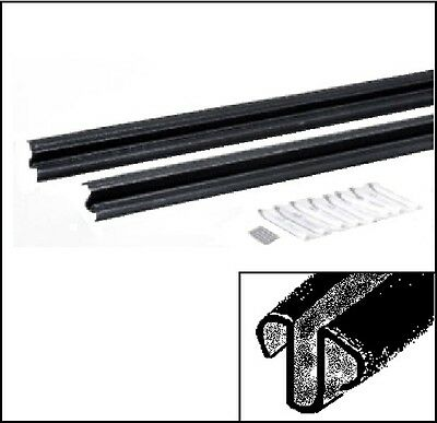 Door Window Glide Strips for 1966-1970 MoPar B-Body