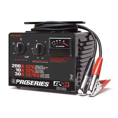 Schumacher Electric PSC-2030T 200A 6/12V Manual Bench Charger with Engine Start