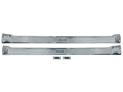 NEW 1965 66 Galaxie 2-Door Step Plates Sill Scuff Trim 500XL LTD Ford