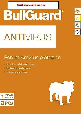 NEW Download Official BullGuard Robust Anti Virus 2019 1 Year 1 Users PC/ANDROID