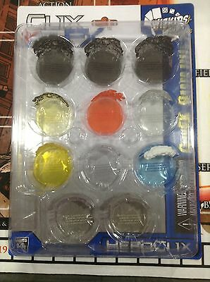 HEROCLIX MARVEL & DC Game Accesories - ClixFx Bases