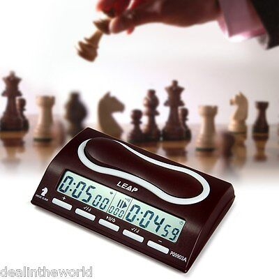 Professional Digital Omnipotent Chess Clock I-go Gomoku Count Up Down Timer