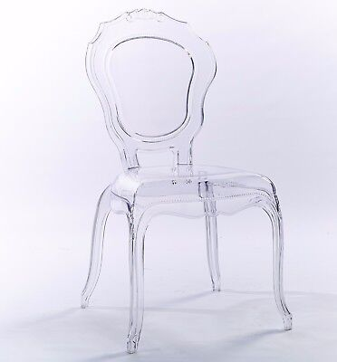 Ghost V2  transparent clear Dinning chair style + Quality
