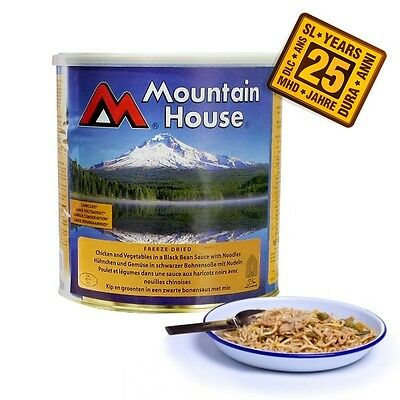 Mountain House Freeze Dried Emergency Food #10 Cans up to 25 year shelf life
