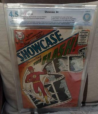SHOWCASE DC Comics Silver#4 Bolland Collection 4.5 1st FLASH CGC CBCS APPEARANCE
