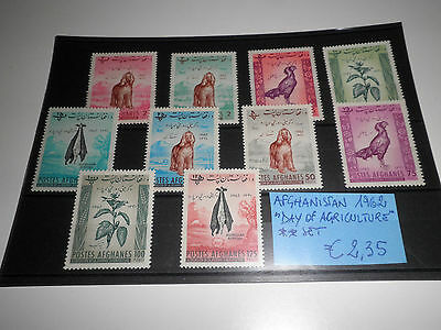 "Afghanistan 1962 ""day Of Agriculture"" Mnh** Set (Cat.x)"