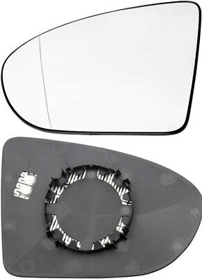 Wing Mirror Glass With Plastic Holder N/S Left - Heated for Nissan Qashqai