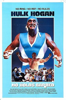 No Holds Barred Movie POSTER (1989) Action