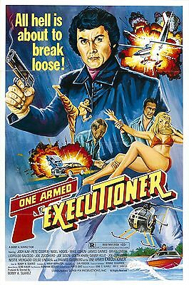 The One Armed Executioner Movie POSTER (1981) Action/Drama