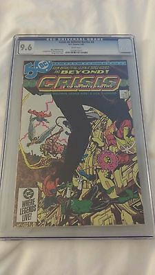 CRISIS ON INFINITE EARTHS #2  - CGC Graded 9.6 White Pages WP